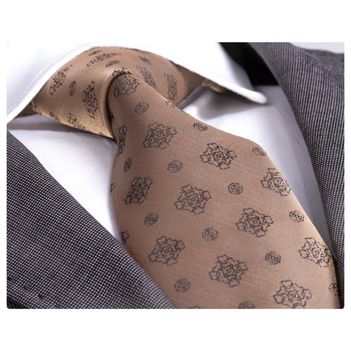 Light Brown Handmade Necktie